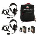TAG Heuer HL551S 2 Station Single Ear Headset