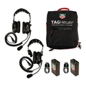 TAG Heuer HL551SD 2 Station Headset Single Ear / Double Ear