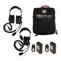 TAG Heuer HL551SD 2 Station Headset Single Ear / Double Ear