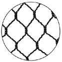 25' x 100' Heavy Duty Poly Net