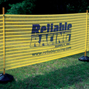 Custom Imprinted Event Fence