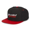 RR Logo Flat Bill Classic Snap Back Cap