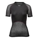 Brynje Women's Wool Thermo Light Mesh Short Sleeve Top