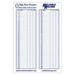 Kelly Brush/RRS Giant Scoresheet - New!